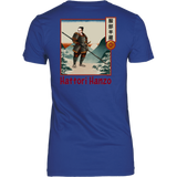Hattori Hanzo - Famous Ninja Tshirt & Hoodie District Womens Shirt / Royal Blue / XS T-shirt - TuWillows