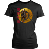 Hattori Hanzo's Spear  - Famous Ninja Tshirt & Hoodie District Womens Shirt / Black / XS T-shirt - TuWillows