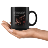 Let Them Pass Like Smoke Black Mug 11oz Let Them Pass Like Smoke Drinkware - TuWillows