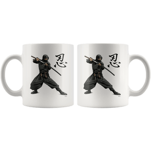 Ninja Mug 11oz Ninja Drinkware - TuWillows