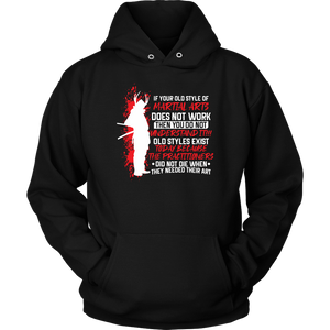 Old Style Martial Arts - Budo Hoodie Unisex Hoodie / Black / S T-shirt - TuWillows