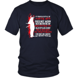 Old Style Martial Arts District Unisex Shirt / Navy / S T-shirt - TuWillows