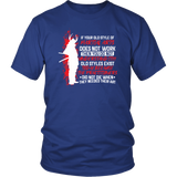Old Style Martial Arts District Unisex Shirt / Royal Blue / S T-shirt - TuWillows