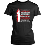 Old Style Martial Arts District Womens Shirt / Black / XS T-shirt - TuWillows