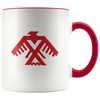 Thunderbird Mug 11oz Red Drinkware - TuWillows