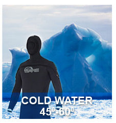 House of Scuba Wetsuits - Cold Water 45-60 degrees