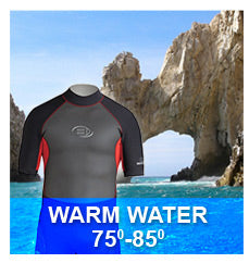 House of Scuba Wetsuits - Warm Water 75-85 degrees