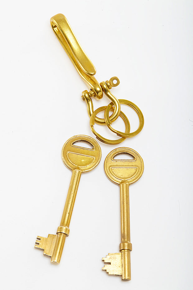 Large Brass Key Fob from Curator of Crafts