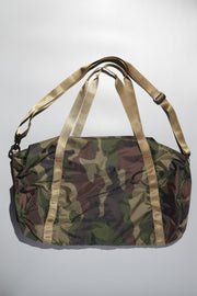 Camouflage tent bag from Curator of Crafts