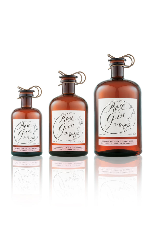 Rose Gin Classic Range by Tinkture from Curator of Crafts
