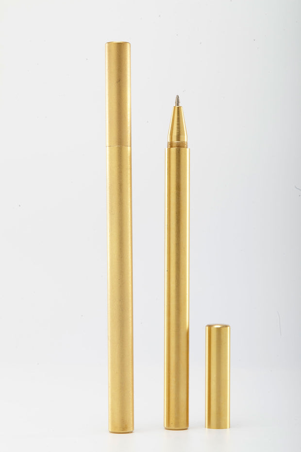 Hexagonal Brass Pen from Curator of Crafts