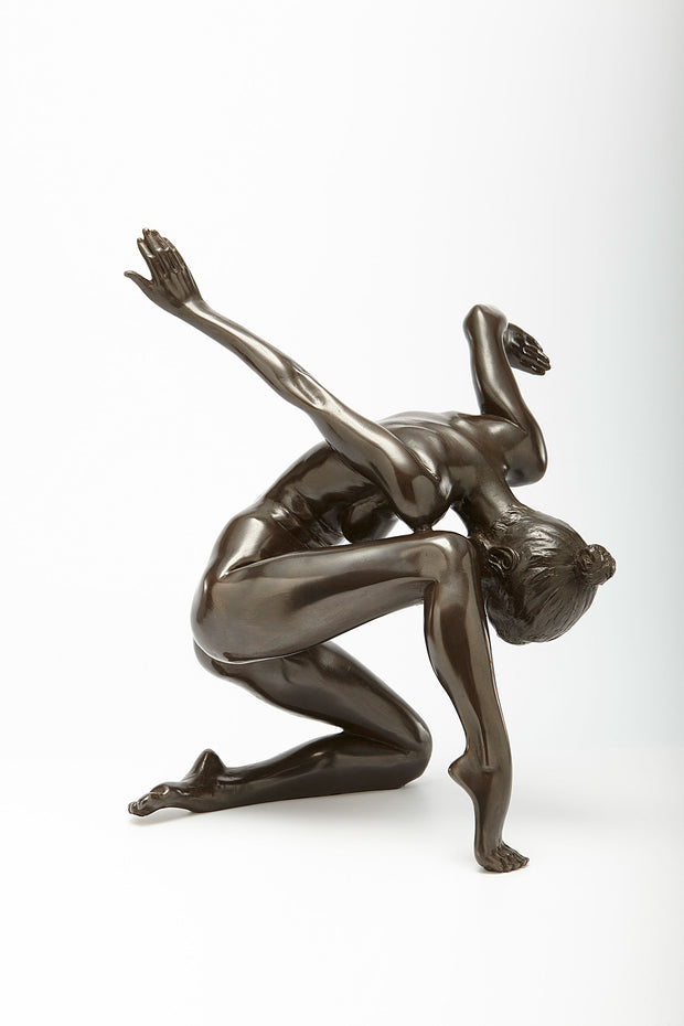 Karen Dancing Bronze Sculpture by Tom Greenshields from Curator of Crafts