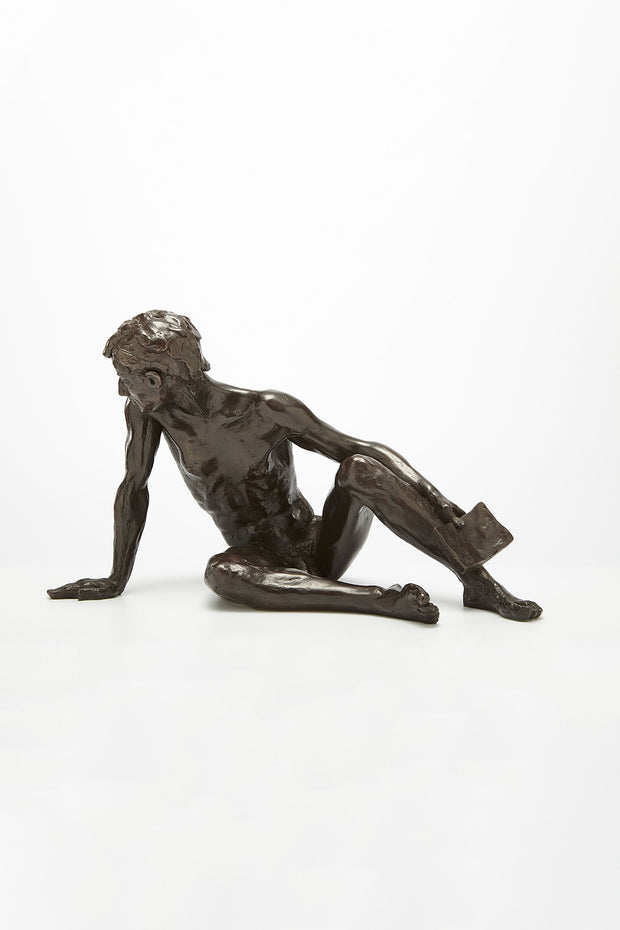 Kevin Bronze sculpture by Tom Greenshields from Curator of Crafts