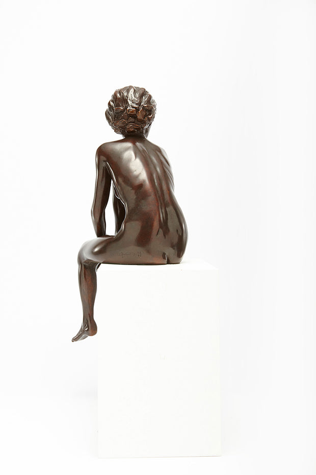 Merry sculpture in Bronze by Tom Greenshields from Curator of Crafts