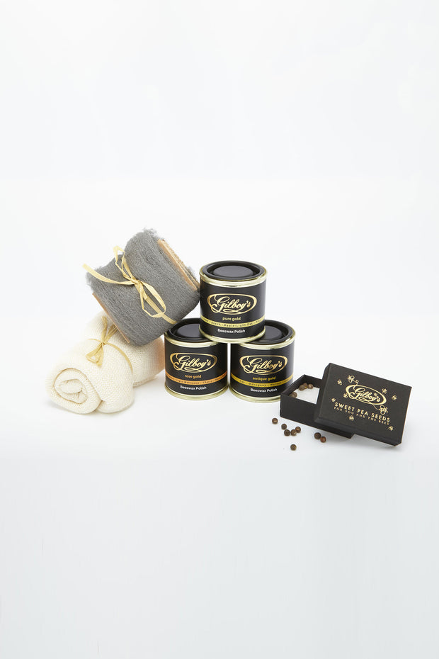 Gilboy's Beeswax Polishing Starter Kit from Curator of Crafts