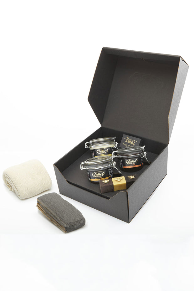 Gilboy's Beeswax furniture Polishing Kit from Curator of Crafts