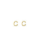 Initial C Earrings - BANSRI                                                                 Jewelry Lounge
