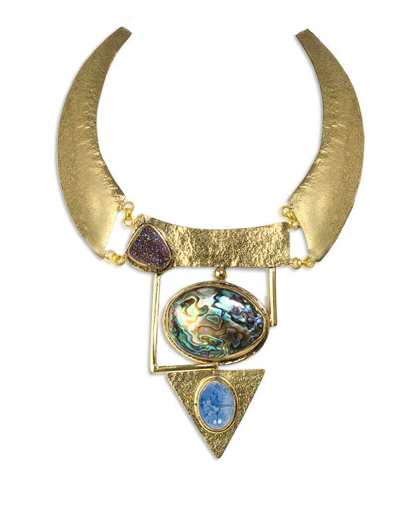 Egyptian Necklace - BANSRI                                                                 Jewelry Lounge