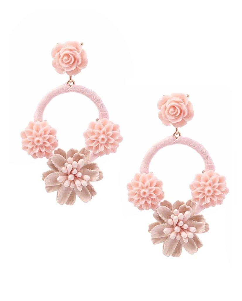 Angelina Bouquet Floral Earrings - Bansri Mehta Design