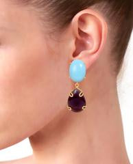 Celine Earrings on ears