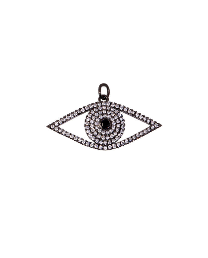 Eye Oval Pendant - BANSRI                                                                 Jewelry Lounge