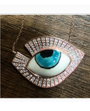 Gorgeous Glam Evil Eye Necklace