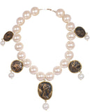 Pearl And Coin Necklace - Bansri Mehta Design