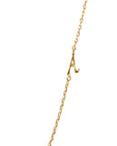 Initial A Necklace with 18K Gold Plating