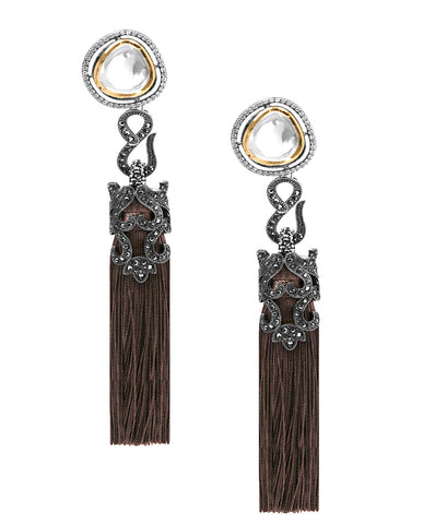 Leiah Tassel Duster Earrings