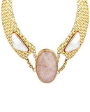 Samantha Basketweave Necklace - BANSRI                                                                 Jewelry Lounge