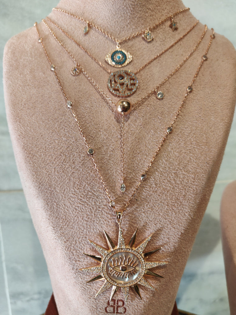 Eye of Love Necklace