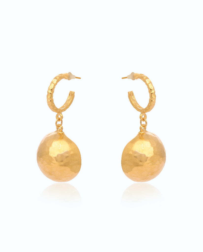 Golden Globe Earrings