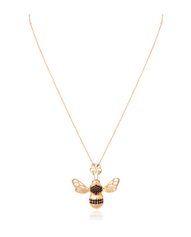 Smitten By The Bee Necklace