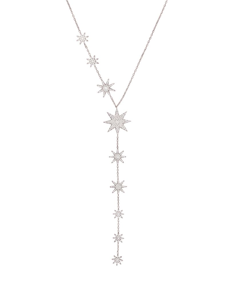 Cascading Celestial Chain Necklace
