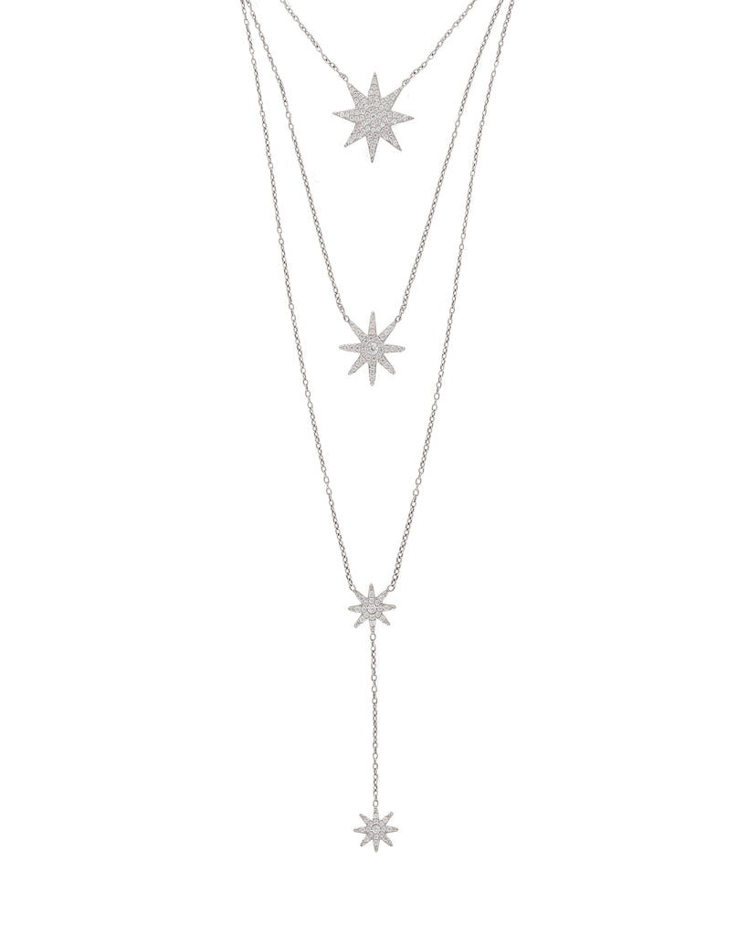 Celestial Layered Chain Necklace