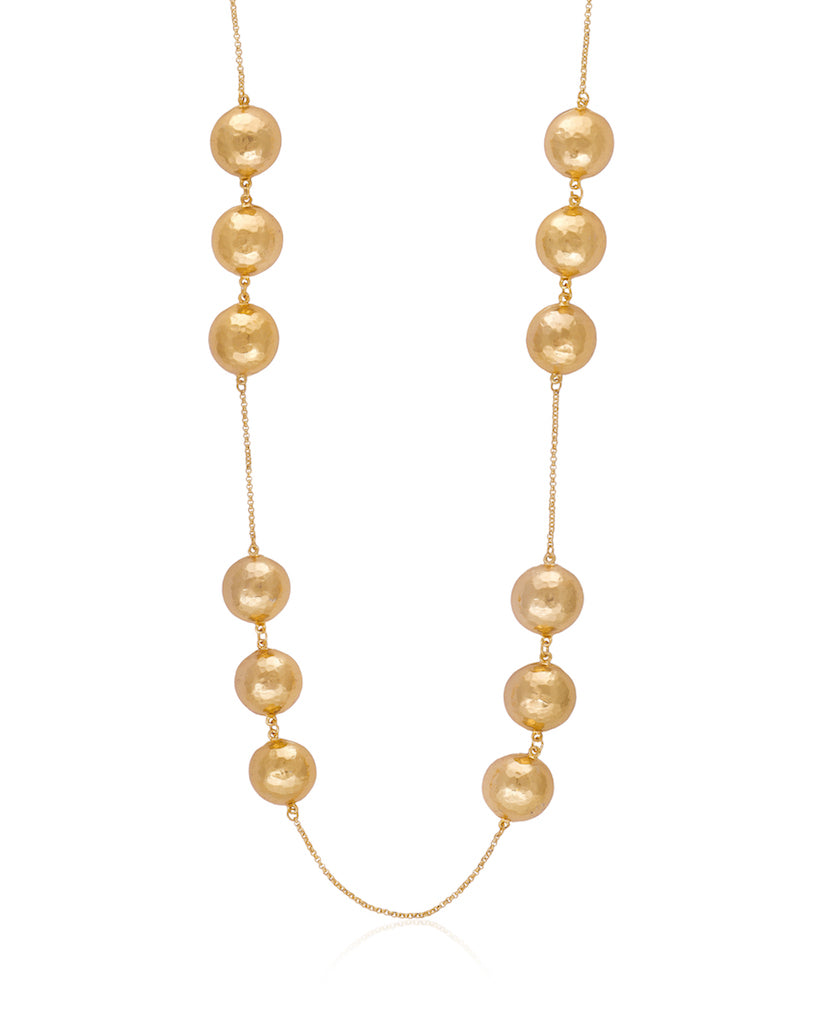 Kami Beaded Necklace - Gold