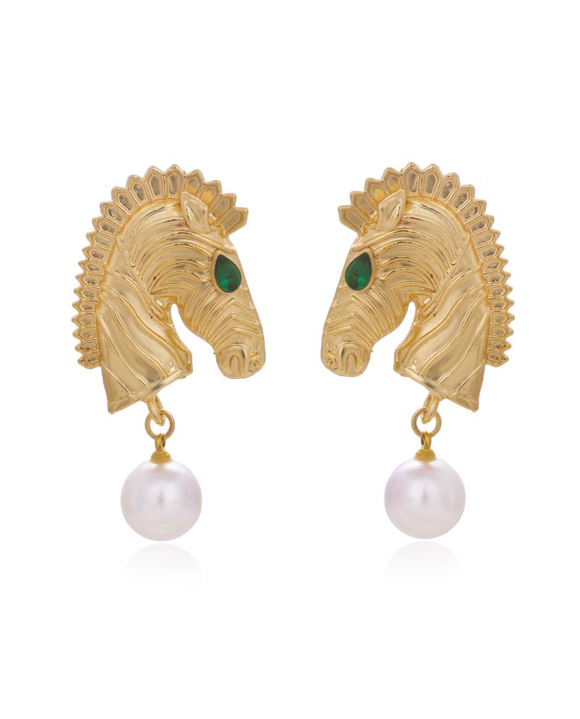 Kensington Zebra Earrings