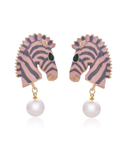 Chelsea Zebra Earrings