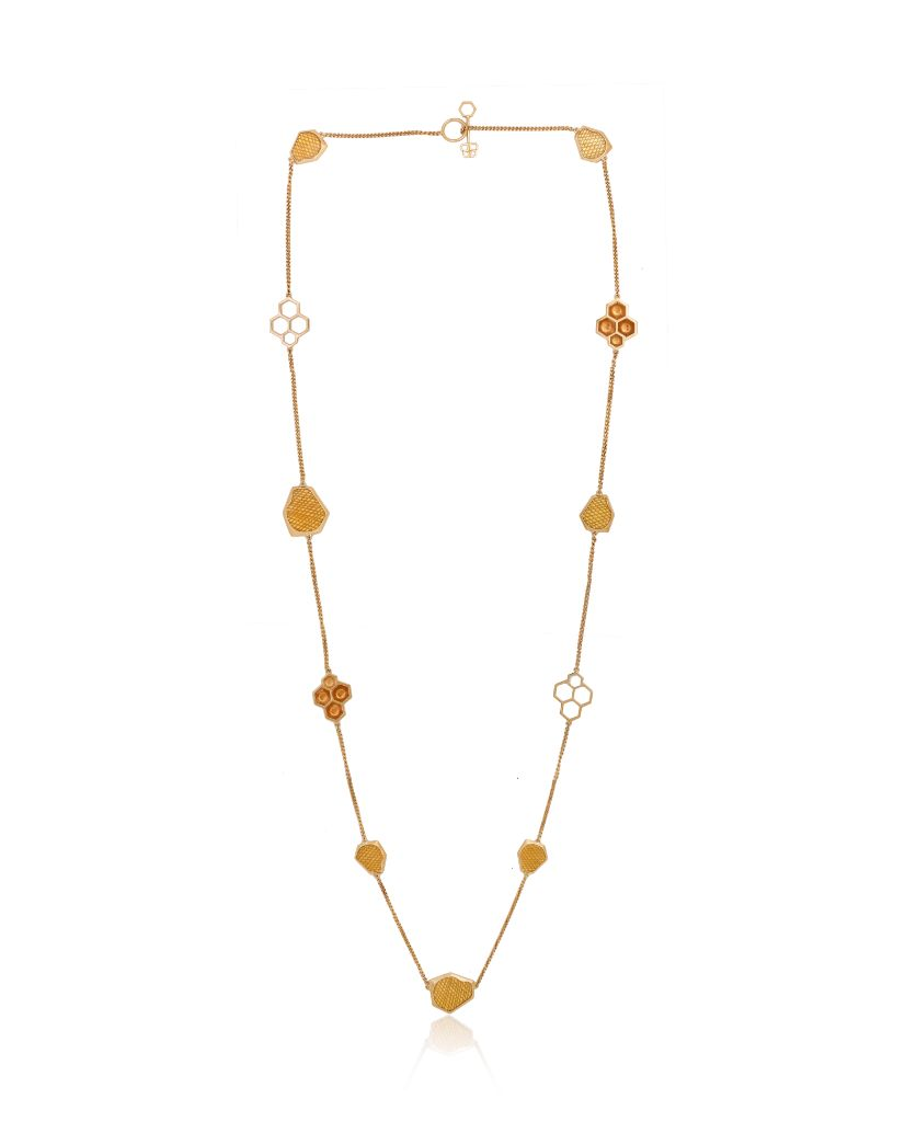Olivia Double Sided Long Necklace