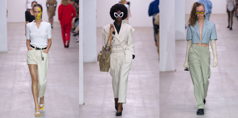 new girl order London fashion week pushbutton ss20 catwalk show