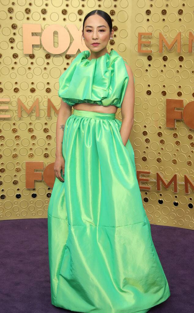 Emmys best dressed fashion blog new girl order greta lee Christopher John rogers