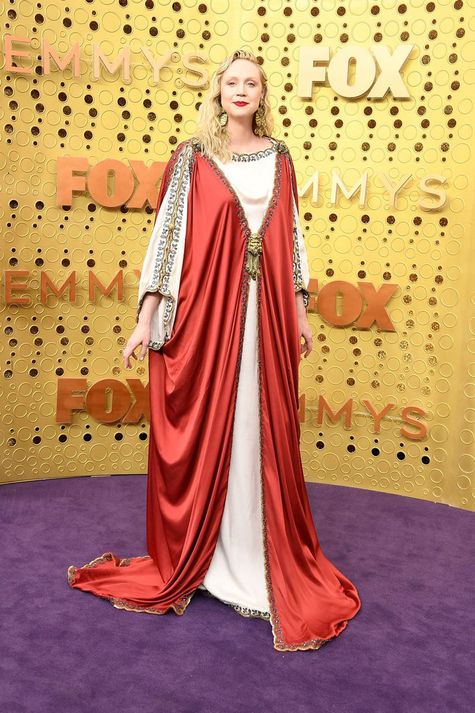Emmys best dressed fashion blog new girl order Gwendoline Christie Gucci