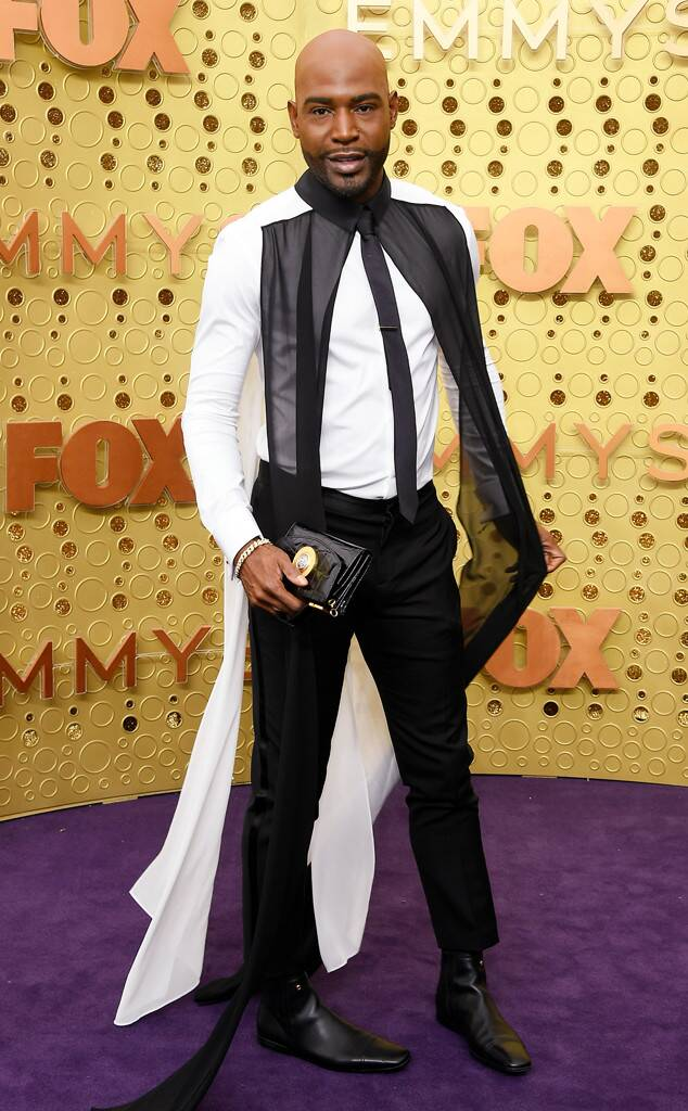 Emmys best dressed fashion blog new girl order karamo brown Versace