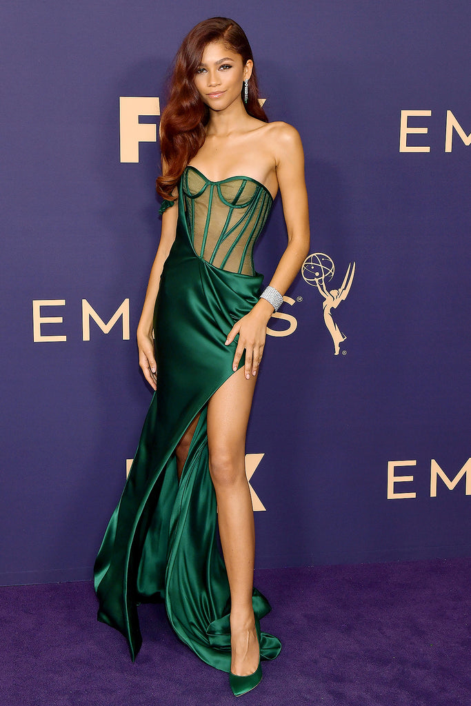 Emmys best dressed fashion blog new girl order Zendaya Vera Wang