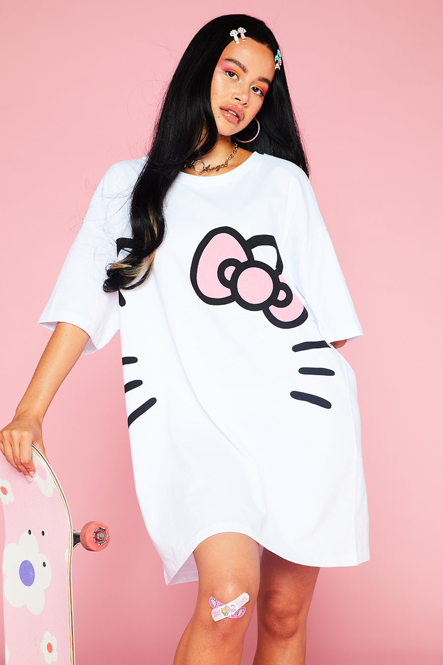 HELLO KITTY TEE DRESS