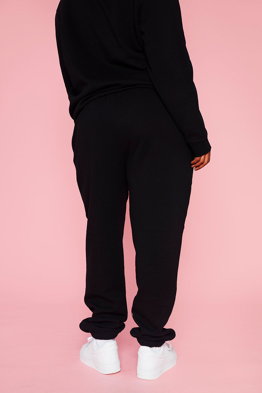 HELLO KITTY BLACK JOGGERS CURVE