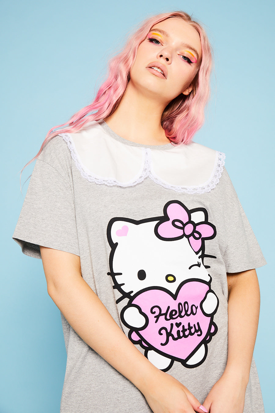 Hello Kitty collar t-shirt dress