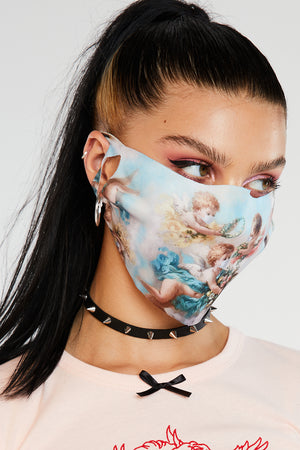 Cherub face mask