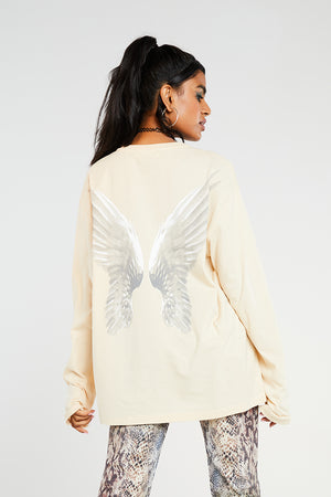 Heaven sent long sleeve top