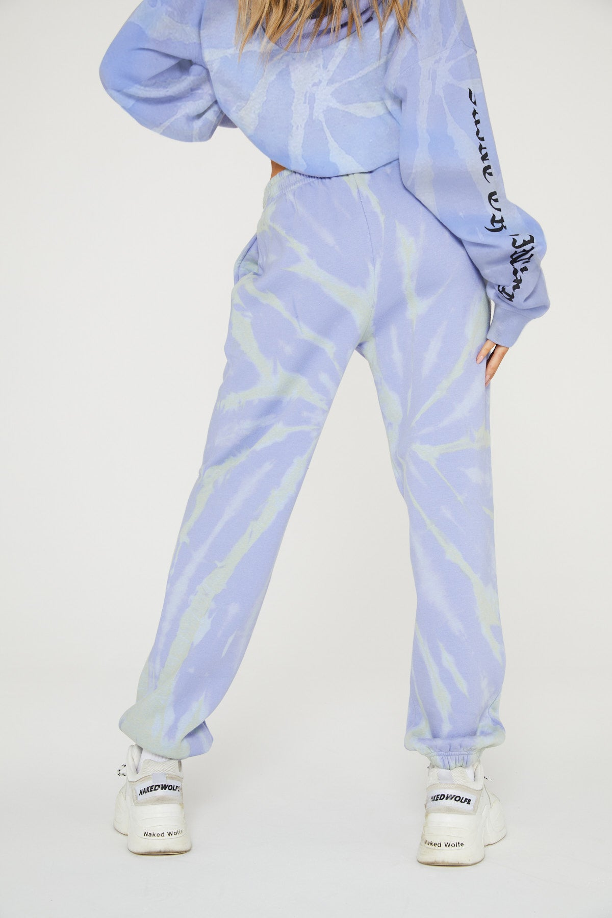 SAINT OR SINNER TIE DYE JOGGER